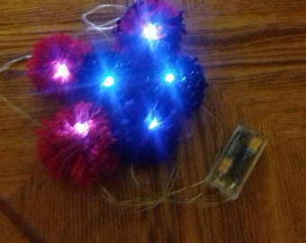 Fun Pom Pom LED Lights