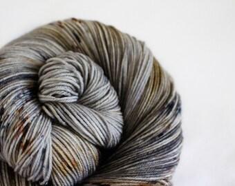 Jon Snow - Nuthatch - 75/25 superwash merino/ nylon sock yarn
