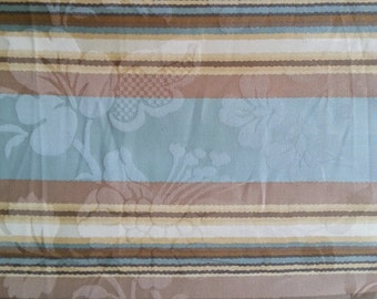 Sanctuary Stripe - Spa - Waverly Fabric - Sold by the Yard - Cotton Damask