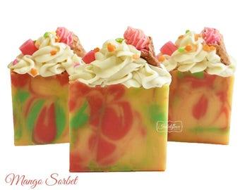 Soap- Mango Sorbet Artisan Vegan Soap/Vegan