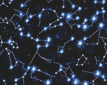 Timeless Treasures Fabrics Space Constellations - C5740