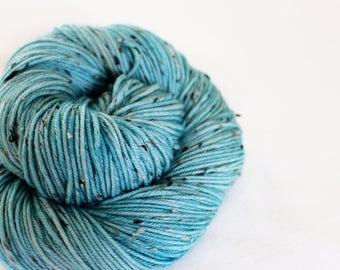 Robin's Egg - Phoebe - Superwash merino tweed DK yarn