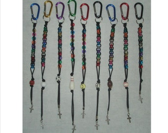 SPORTS ROSARY, One Decade / Travel Style, Personal and Portable