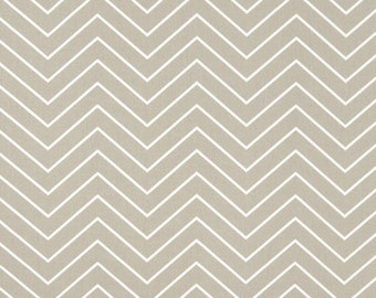 "Premier Prints Chevron Gunmetal Tan Twill or Choice of 12 Colors Fabric  54"" Fabric By The Yard 100% cotton"