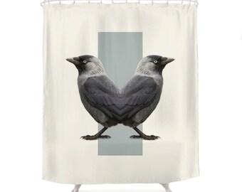 Birds Shower Curtain - Double Animals