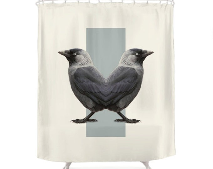Birds Shower Curtain - Double Animals