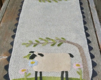 Sheep in the Meadow Table Runner