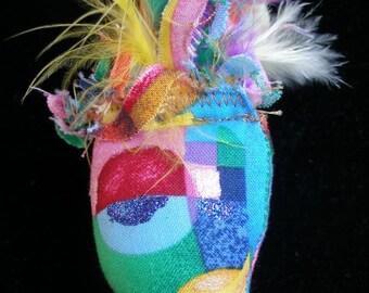 POUPÉE d'ART Soft sculpture, à colorier, Decor, Cirque du Soleil, Nouveau Cubisme Dollmaker, paganteam, GTGEU, SupportingArtists, OlympiaEtsy,