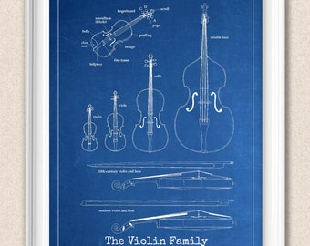Blueprint art etsy violin art blueprint musical print personalise background chalkboard blueprint aged paper a179 malvernweather Image collections