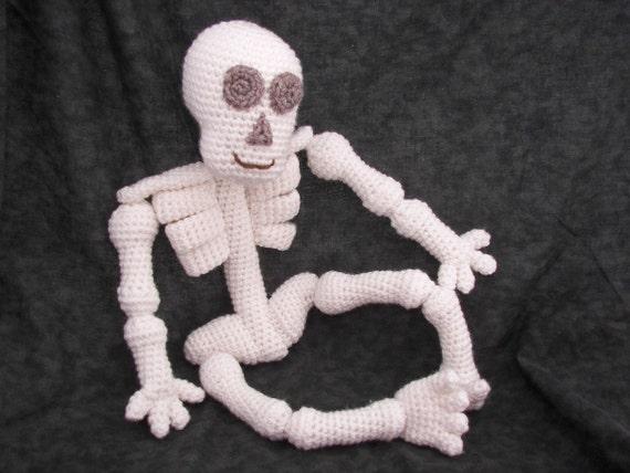 Knorren Knie Skelett häkeln Muster
