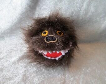 Fuzzy Monster Catnip Ball Cat Toy