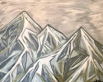 Giclee- Peaks