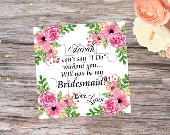 Bridesmaid Invitation Will You Be My Flower Girl Proposal Gift Will You be My Bridesmaid Puzzle Will you be My Maid of Honor Jigsaw Puzzle