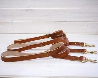 Dog Leash, Leather Dog Leash, Dog Leash Leather,  Strong Leather Dog Leash, dog lead, Tan Leather leash, Leather leash,