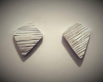 Sterling Silver Post Earrings (5)