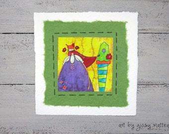 """Small  fine art print """"il nido"""""""
