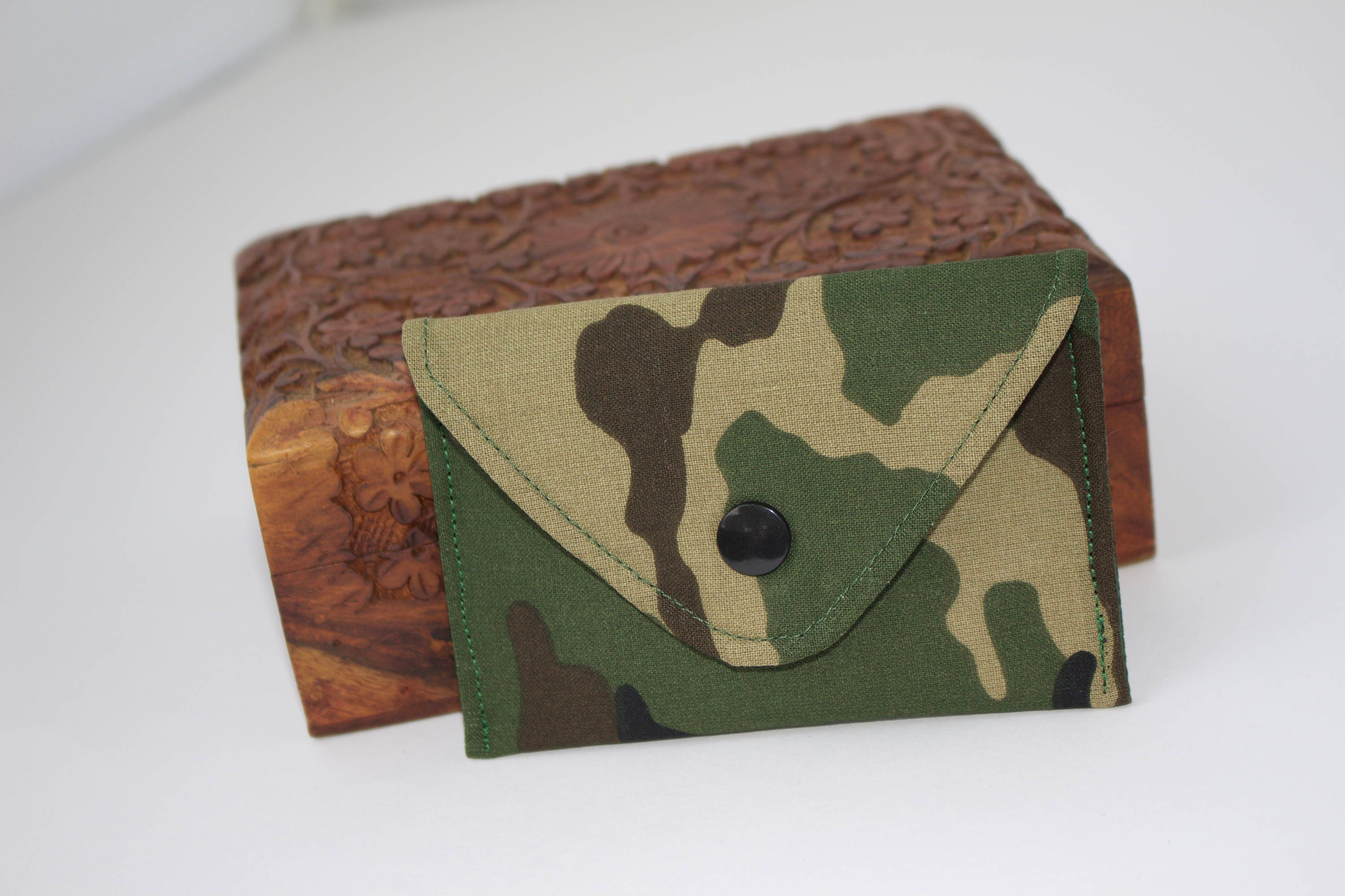 Camouflage Business card case