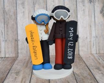 Snowboader Cake Topper, custom snowboarder cake topper, snowboarder gift, snowboarder