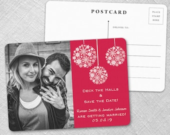 Noel - Postcard - Save-the-Date