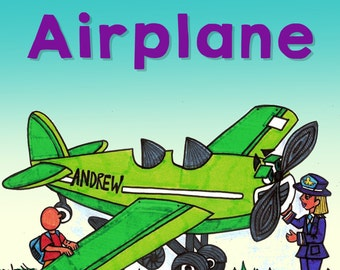 Books For Kids Airplane Book Kids Books Childrens Book Gifts For Kids Gifts For Children Books For Children Baby Books Picture Books