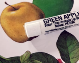 Green Apple Lip Balm - Better Than Average Lip Balm