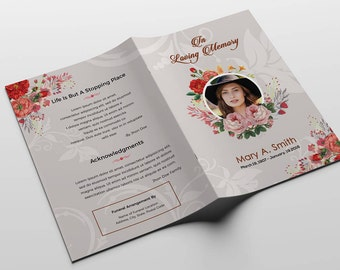 memorial pamphlet