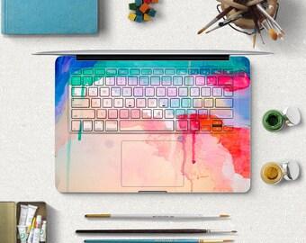 MacBook Air Keyboard Sticker 3M Full Keys Cover Skin Watercolor Laptop keyboard Decal holiday gift