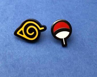 Naruto Pin Board Fillers (Uchiha, Hidden Leaf)