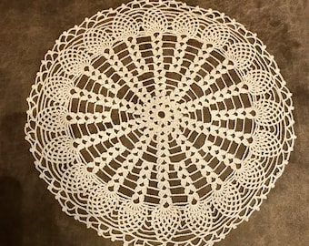 Natural Colored Pineapple Doily
