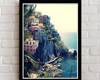 Cinque Terre / Digital Download/ Travel Photography / Cinque Terre Photography / le Cinque Terre  / wall hanging / home decor / photography