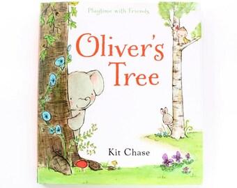 Children's book, nursery books, Oliver's Tree, Kit Chase artwork