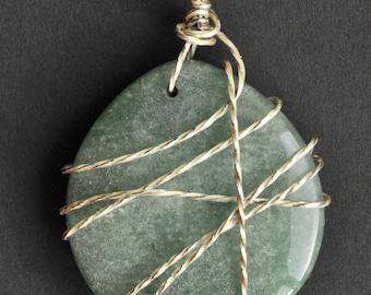 Green Stone Pendant