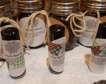 Organic Coffee Eye Serum and Coffee Sugar Scrub with Organic Hemp Oil Set