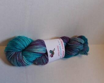 Hand Dyed 100% Wool: Super Nova