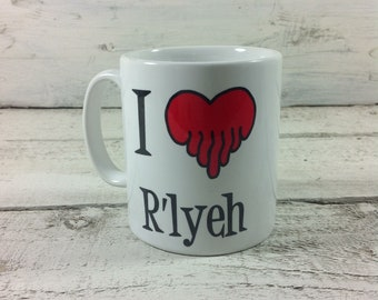 I Love R'lyeh, 11oz Gift Mug