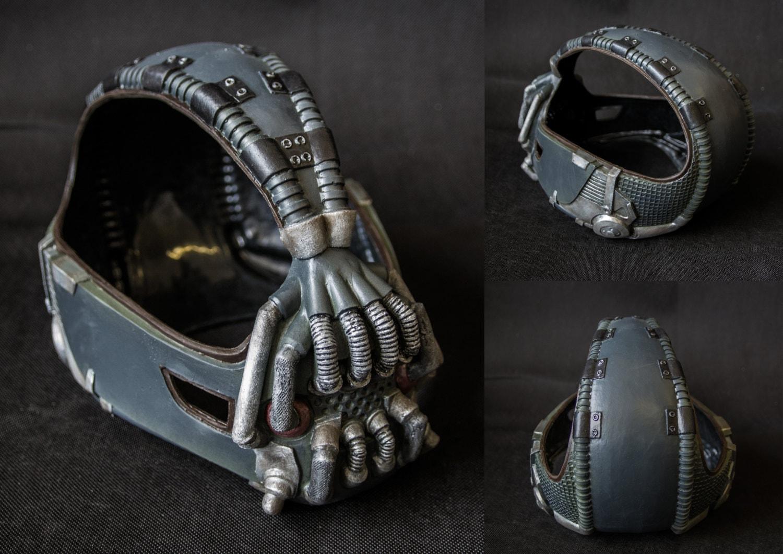 ?zoom & Bane 1:1 Dark Knight Rises TDKR Mask Prop