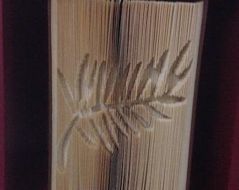 Palme - Feuillage - Livre plié - Cadeau - Unique