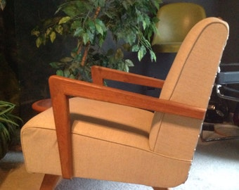 RESERVED Mid Century Paoli Rocking Chair