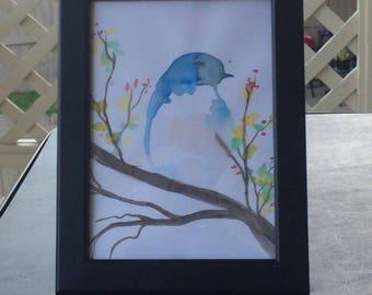 Bird (Watercolor)