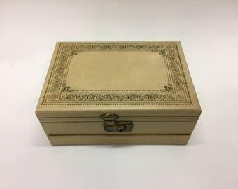 Locking jewelry box Etsy