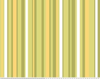 Decadence Green Stripe by Samantha Walker for Riley Blake, 1/2 yard