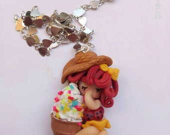 Dolls Necklace on Summer jelly