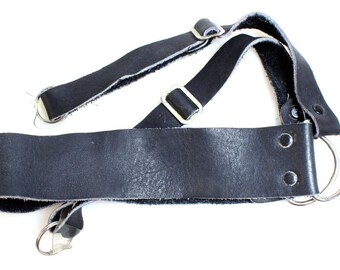 1960s Vintage Leather Camera Strap//Camera Accessories//Neck Strap