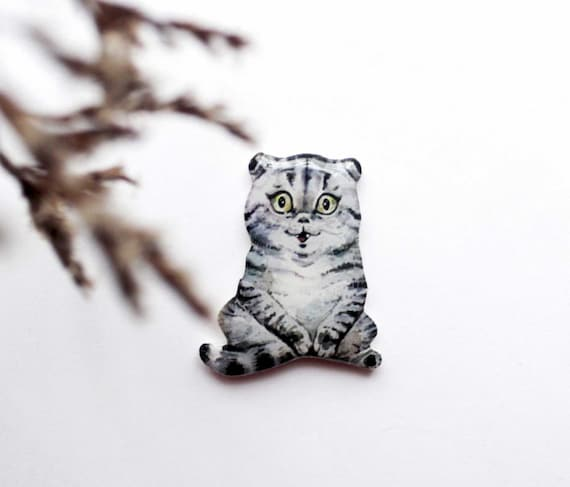 cat brooch cat gift for her pet lover gifts birthday gift for