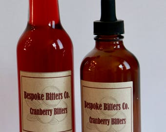 Handcrafted Cranberry Bitters