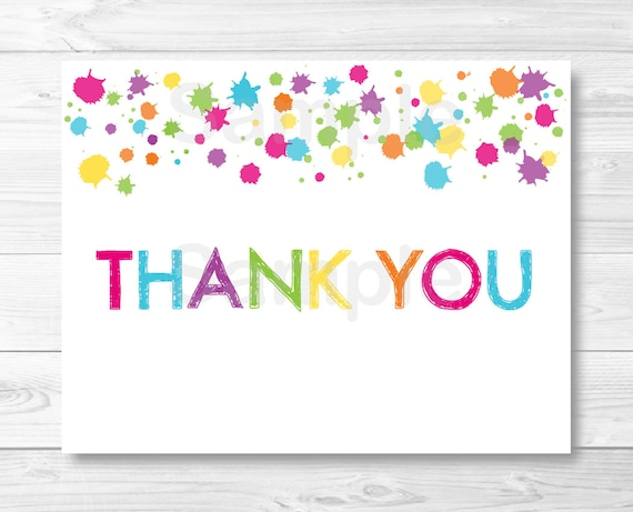 Amazing Thank You Cards Templates