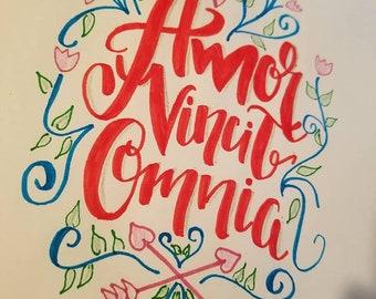 Amor Vincit Omnia - Love Conquers All