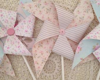 Pretty Pinwheels x set of 3