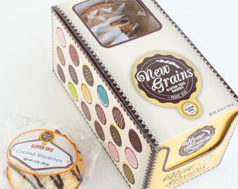 Gluten Free Coconut Macaroon Cookie 10 Pack