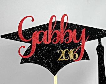 2018 Graduation Cake Topper / Graduation Centerpiece / PERSONALIZED Graduation Centerpiece / Graduation Decor Graduation Class of 2018 party
